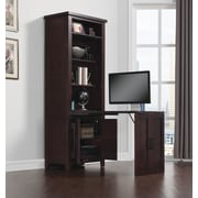Bell'O Dakota Murphy Desk with Filing Cabinet, Roasted Walnut (ODP9786-30W509)
