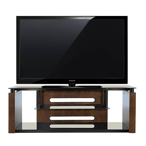 Bello 60 Inch Tv Stand For Tvs Up To 65 Inch Espresso Avsc2155