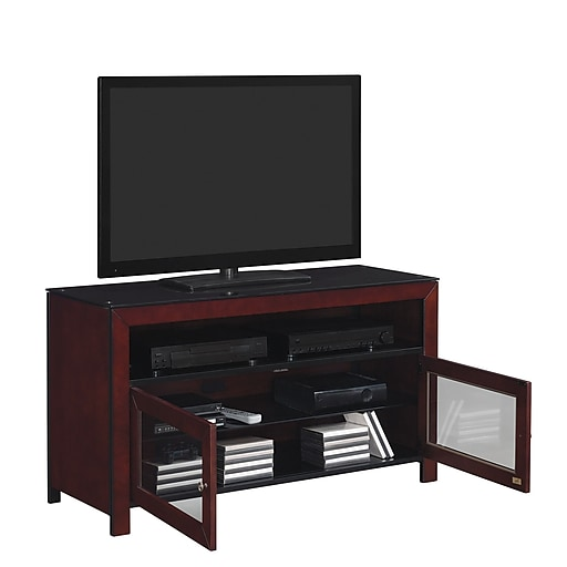 Bello 50 Inch Tv Stand For Tvs Up To 55 Inch Deep Mahogany