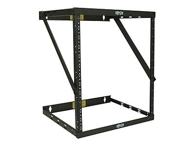Tripp Lite SmartRack® SRWO8U22MD 8U/12U/22U Black Expandable Very Low-Profile Patch-Depth Open Rack Frame