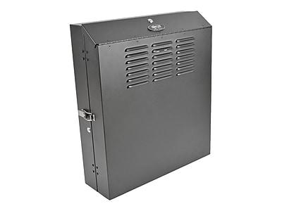 Tripp Lite SmartRack® SRWF4U 4U Black Low Profile Secure Rack Cabinet