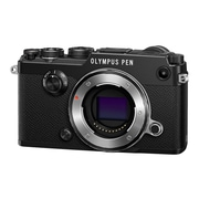 Olympus PEN-F 20.3 Megapixel Mirrorless Camera Body, Black (V204060BU000)