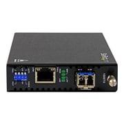 StarTech.com® LC Copper-to-Fiber Transceiver/Media Converter (ET91000SM20)