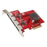 Addonics AD4ES6GPX4 4 Port eSATA 6Gb/s PCIe x4 Storage Controller by