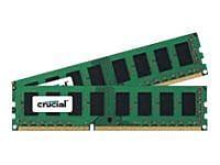 Micron® Crucial™ CT2K102464BD160B 16GB DDR3L SDRAM UDIMM 240-pin DDR3L-1600/PC3-12800 RAM Module