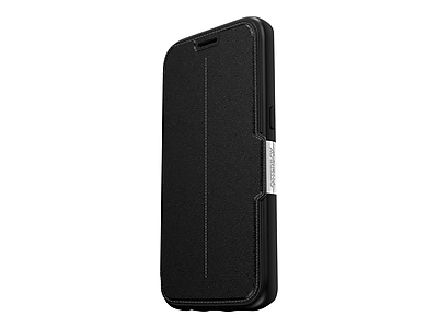 OtterBox Strada Series Carrying Case for Samsung Galaxy S7, Onyx Black (77-53173)