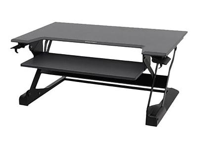 Ergotron® WorkFit-TL 33-418-085 Sit-Stand Desktop Workstation, Black