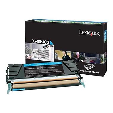Lexmark® X748H4CG Cyan 10000 Pages High Yield Toner Cartridge for X748 Printer