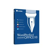 Corel WordPerfect Office X8 Standard Edition Software, 1 User, Windows, Disk (WPOX8STDEFMB)