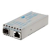 Omnitron miConverter SFP Transceiver/Fiber Media Converter (1239-0-1)