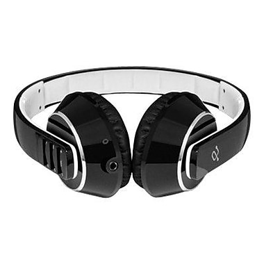 Aluratek ABH01F Refurbished Wireless Over-the-Head Headset, Black