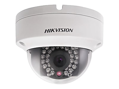 Hikvision® DS-2CD2132F-I Wired Outdoor Fixed Dome Network Camera, 4 mm Focal Length
