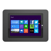 Compulocks® 518ROKB Rokku Aluminum Security Enclosure Wall Mount for Microsoft Surface 3, Black