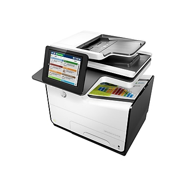 HP® PageWide Enterprise Flow 586z Color Page Wide Array Multifunction Printer (G1W41A#BGJ)