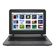 "HP® ProBook 11 EE G2 11.6"" Notebook PC, LCD, Intel Celeron 3855U, 128GB, 4GB, Windows 10 Pro, Black (X1X61UT#ABA)"