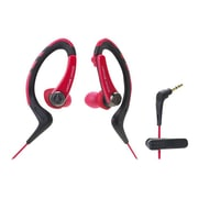 Audio-Technica® ATH-SPORT1 SonicSport® In-ear Headphone, Red