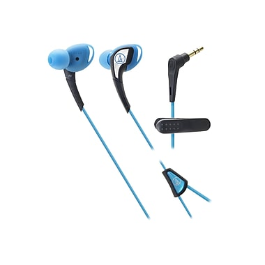 Audio-Technica® ATH-SPORT2 SonicSport® In-ear Headphone, Blue