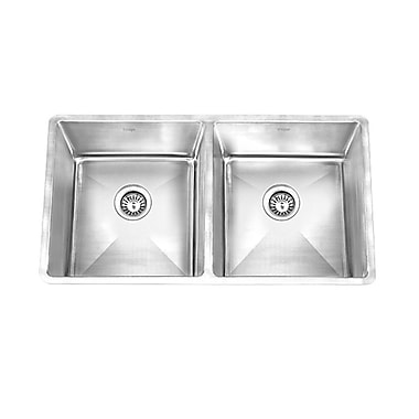 KRUGER GPD390 PICO HG Stainless Steel Undermount Kitchen Sink