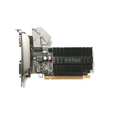 Zotac (ZT-71303-20H) GeForce GT 710 Zone Edition Graphics Card, 2GB, DDR3