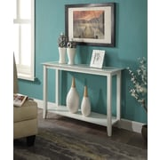 Convenience Concepts Carmel Wood/Veneer Console Table, White, Each (938099W)