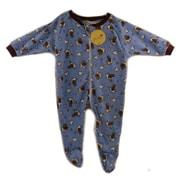 Baby Bug Blanket Sleeper, Bear Print