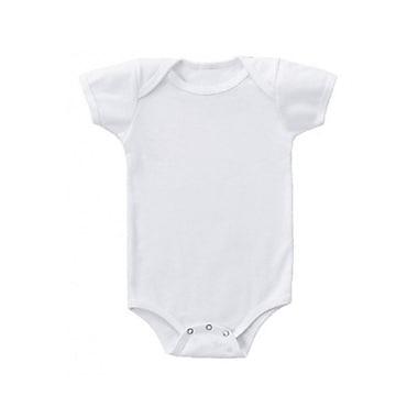 Baby Bug Baby Onesie, White, 6 Months, 12/Pack, (ONESIE12PK6M)