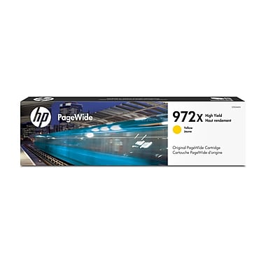 HP 972X Yellow High Yield Original PageWide Ink Cartridge (L0S04AN)