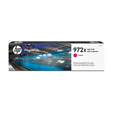 HP 972X Magenta High Yield Original PageWide Ink Cartridge (L0S01AN)