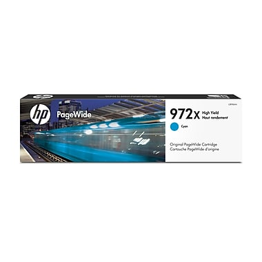 HP 972X Cyan High Yield Original PageWide Ink Cartridge (L0R98AN)