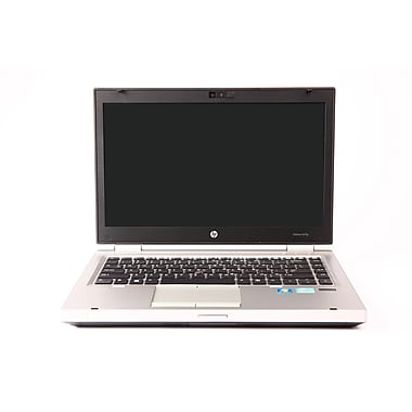 HP - Portatif Elite Book (8470p) remis à neuf, 14 po, 2,6 GHZ Intel Core i5-3320M, RAM 4 Go, SSD 128 Go, Windows 10 Pro