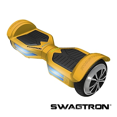 Swagtron™ T3 Hands-Free Smart Board with Bluetooth, Gold, (89717-8)