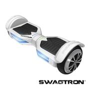 Swagtron™ - Planche de mobilité intelligente mains libres T3, avec Bluetooth, blanc, (89717-5)