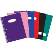 "Hilroy Core+ Poly Notebook, 10-1/2"" x 8"", 100 pages"