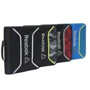 Reebok – Reliure à glissière de 2po avec pochette à fermeture au Velcro, couleurs variées