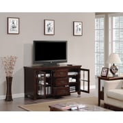 Bell'O Dakota TV Stand for TV's up to 62 Inch, Caramel Oak  (TC60-1066-O128)