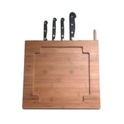 CTA Digital Bamboo Kitchen Stand with Knife Storage, (PAD-BKS)