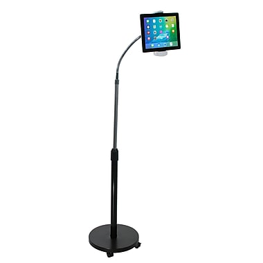 CTA Digital Gooseneck Floor Stand for Tablets, (PAD-GFS)