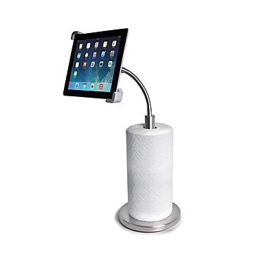 CTA Digital Paper Towel Holder with Stand for Tablets, (PAD-PTH)