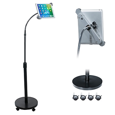CTA Digital Tablet Security Gooseneck Floor Stand, (PAD-SGF)