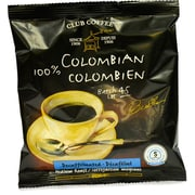 Club Coffee 100% Colombian Decaf In-room Coffee, 0.7 oz., 100/Pack