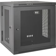 "Tripp Lite SRW10US Wall mount Rack Enclosure Cabinet 10U 19"", 19"" 10U Wall Mounted, (SRW10US)"