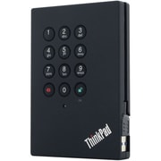 Lenovo – Disque dur externe de 500 Go pr ThinkPad, 2,5 po, USB 3.0, 5400, 8 Mo de mémoire tampon, remplaçable à chaud, (0A65619)