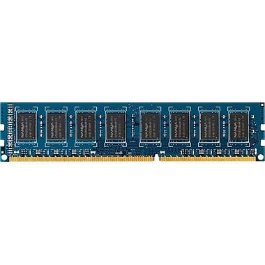 HP 4GB DDR3 1600 DIMM Memory, 4 GB (1 x 4 GB), DDR3 SDRAM, 1600 MHz DDR31600/PC3, (B4U36AA)