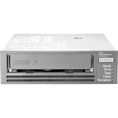 HP StoreEver LTO, 7 Ultrium 15000 Internal Tape Drive, LTO7 6 TB (Native)/15 TB (Compressed), (BB953A)