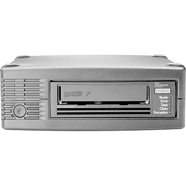 HP StoreEver LTO7 Ultrium 15000 External Tape Drive, LTO7 6 TB (Native)/15 TB (Compressed), (BB874A)