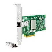HP – Adaptateur bus hôte Fibre Channel, 1 port PCIe de 8 Go, 81Q, 1 PCI Express, 8 Go/s, (AK344SB)