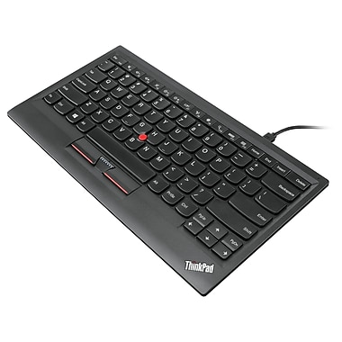 Lenovo ThinkPad Compact Bluetooth Keyboard with TrackPoint, US English, Wireless Connectivity, Bluetooth, English (US)