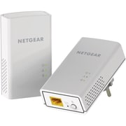 Netgear Powerline 1200, 1 Port, 2 1 x Network (RJ-45), 1200 Mbit/s Powerline, (PL1200-100PAS)