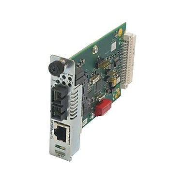 Transition Networks Fast Ethernet Bridging Media Converter, 1 x Network (RJ-45), 10/100BaseTX, 100Base, (CBFTF1040-105)