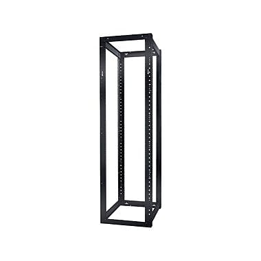 APC NetShelter 4 Post Open Rack Frame, 44U Wide, Black, 907.18 kg x Static/Stationary Weight Capacity, (AR204A)
